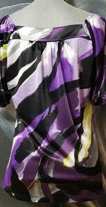 AGB Tops - Purple brush stroke top